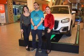 Zafer Plaza'nın Audi Q2'si Nurhak Hızardere'de