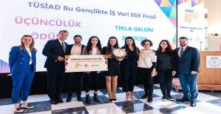 """""""TÜSİAD Bu Gençlikte İŞ Var! Ege"""" Kazananları Belli Oldu"""