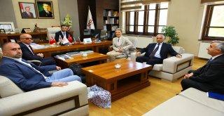 Avusturya Büyükelçisi Tılly, SERKA'yı ziyaret etti