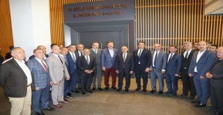 Kayseri İl ve İlçe Odalar ve Borsa Ortak Toplantısı Yapıldı ...