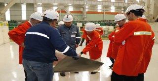 Elif Acar ve Ekibi, Tosyalı Holding'i ziyaret etti