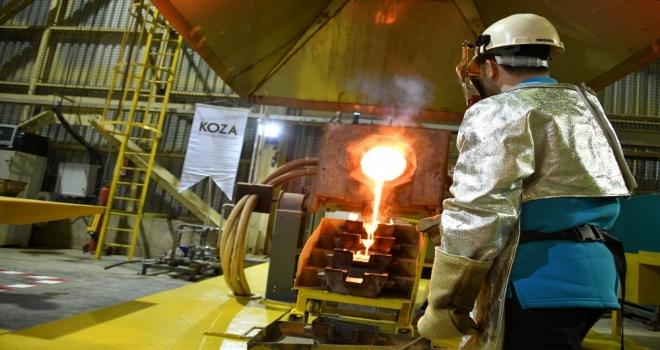 Mastra Altın Madeninde Altın Dökümüne Yeniden Başlandı