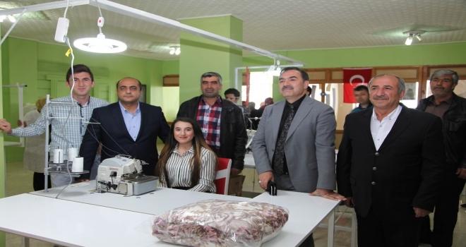 Bitlis'te kadının da adı var