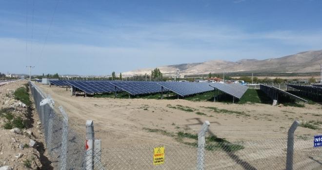 Niğde'ye güneş enerji santrali
