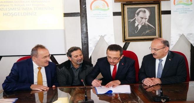 Kastamonu'da kırsal kesime karşılıksız 68 milyon lira