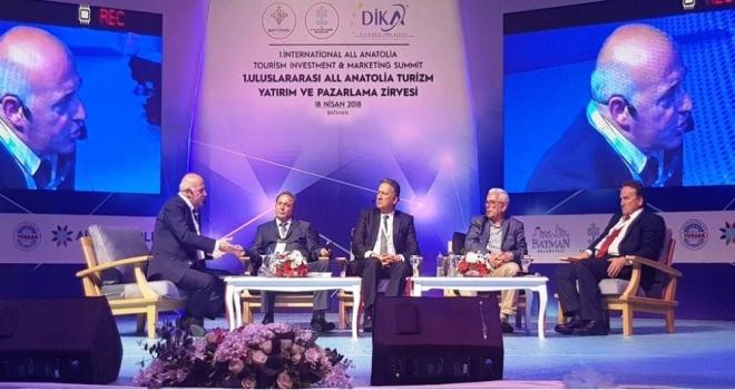 Türkiye'nin geleceği için turizm sektörü mutlaka desteklenmeli