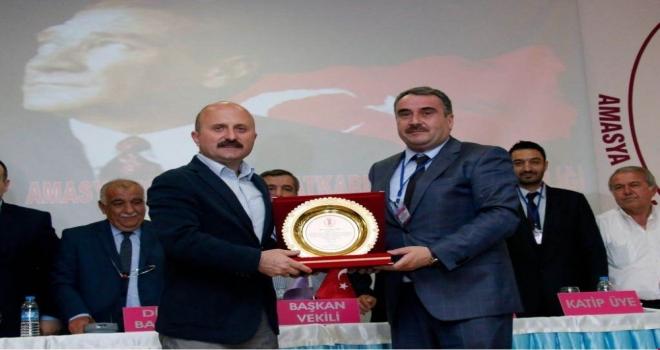 Amasya'da İsa Köse, 4 yıl daha başkan