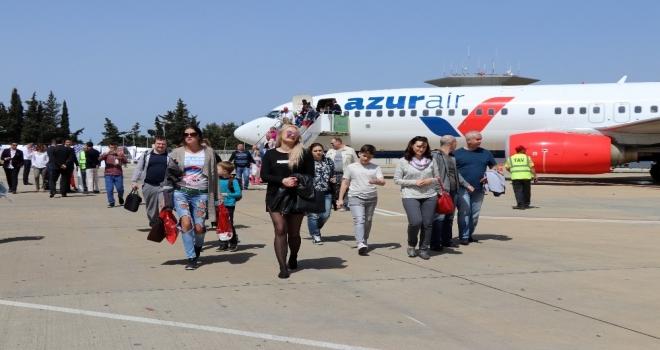 Antalya turist kaynıyor