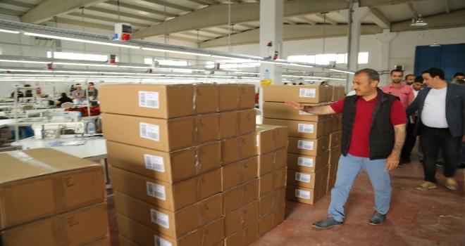 Tunceli'de büyük başarı: Avrupa'ya tekstil ihracatı