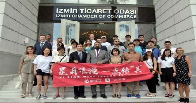 Çinin Ünlü İsimlerinden İzmir Ticaret Odasına Ziyaret