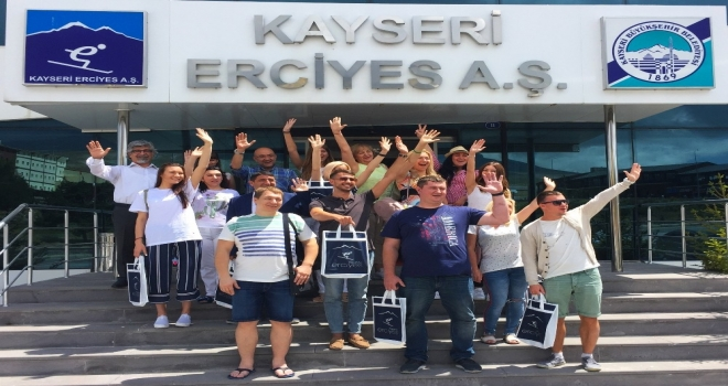Erciyes, Ukraynada Tanıtılıyor