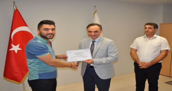 Mardinde 30 Girişimci Sertifikasını Aldı