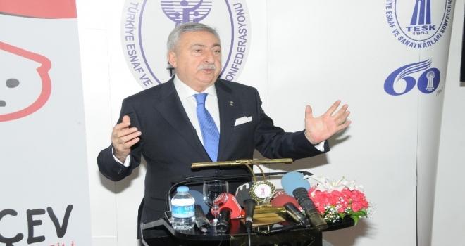"""Tesk Genel Başkanı Palandöken: """"Stokçular Ekonominin Kan Emicileridir"""""""