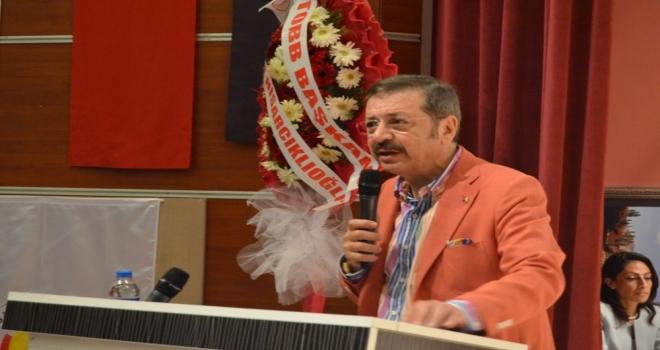 Tobb Başkanı M. Rifat Hisarcıklıoğlu Artvinde