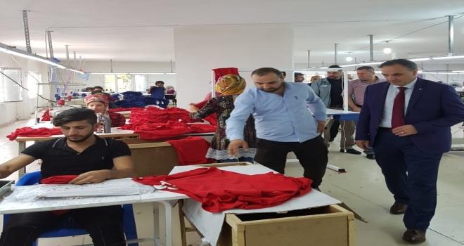 Midyata Tekstil Yatırımları Devam Ediyor