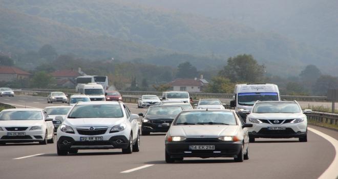 Düzcede Kayıtlı Araç Sayısı 110 Bini Geçti