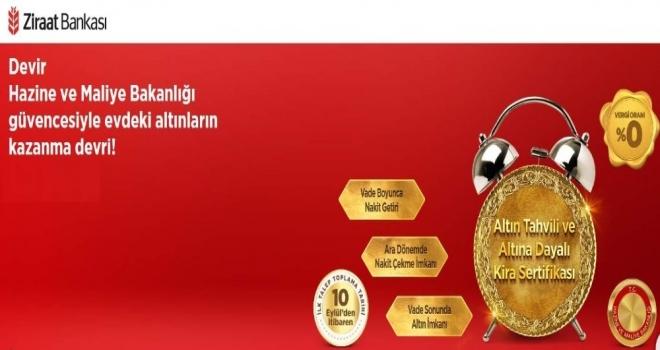 Hazine, Altın Tahvili Ve Kira Sertifikası İhracıyla İlgili Talep Toplamaya Başladı
