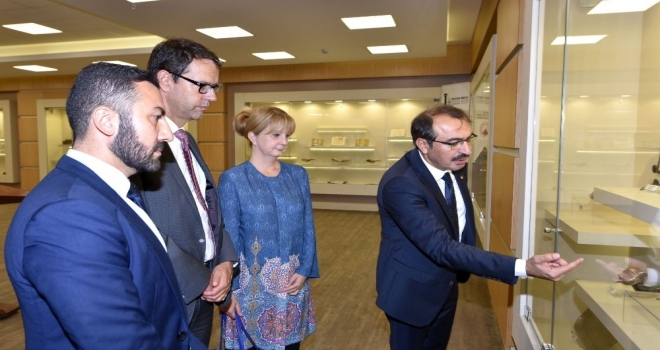 """İsviçre Ankara Büyükelçisi Paravicini: """"İsviçre İle Türkiye Arasında Ticaretin Artması İçin Her Türlü Altyapı Hazır"""""""