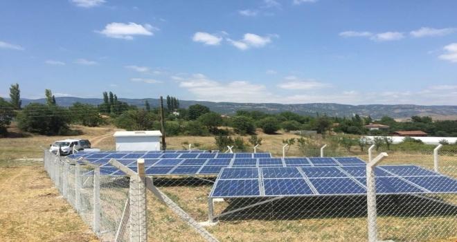Su Depolarının Elektriği Güneş Panellerinden