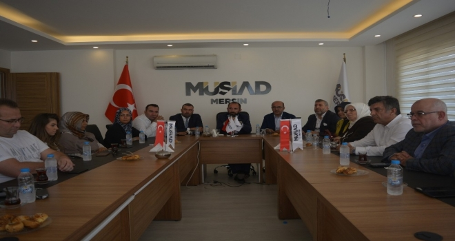 Müsiad Yurtdışı Teşkilatlanma Komisyon Çalıştayı Mersinde Yapıldı