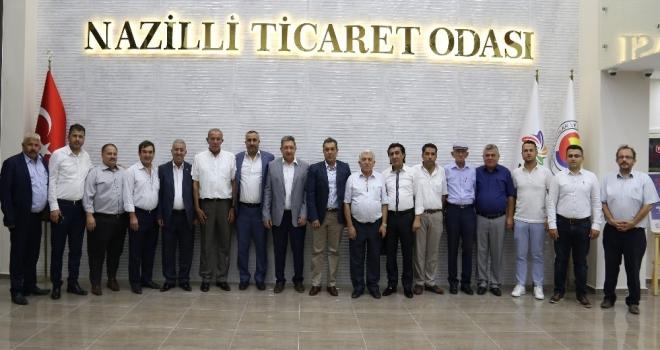 Nazilli Ticaret Odası Ve Esnaf Odaları İstişare Toplantısı Yapıldı