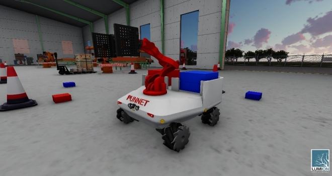 Bilgi Robotik Takımı Türkiyeyi Temsil Etti