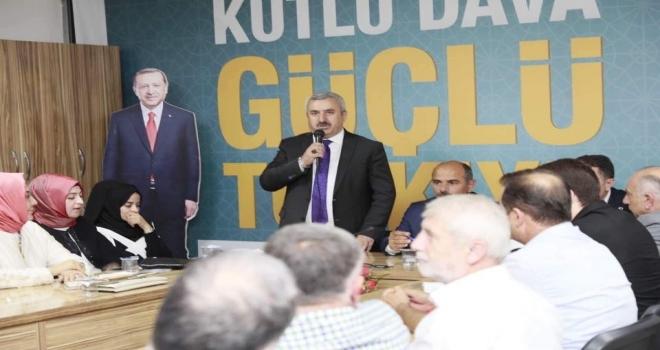 """Başkan Baran; """"Ekonomimizi Ayakta Tutacak Hamleler Yapmalıyız"""""""