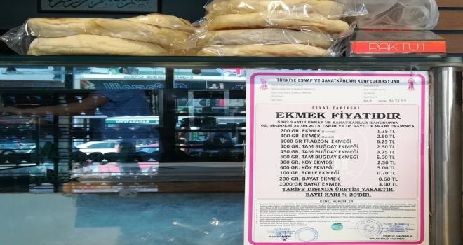 Kocaelide Ekmeğe Zam Yapan 40 Fırına Ceza