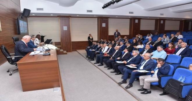 İl Ekonomi Toplantısı Vali Su Başkanlığında Yapıldı
