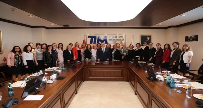Tim Kadınlar Konseyinin Çoğunluğu Egeli Kadın İhracatçılar