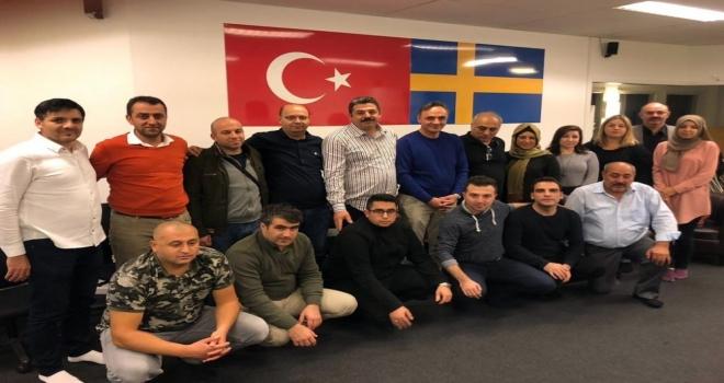 Dika, İsveçte Süryanilerle Buluştu