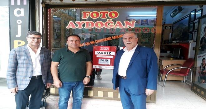 Kızıltepeden 'Enflasyonla Topyekun Mücadele Kampanyasına Destek