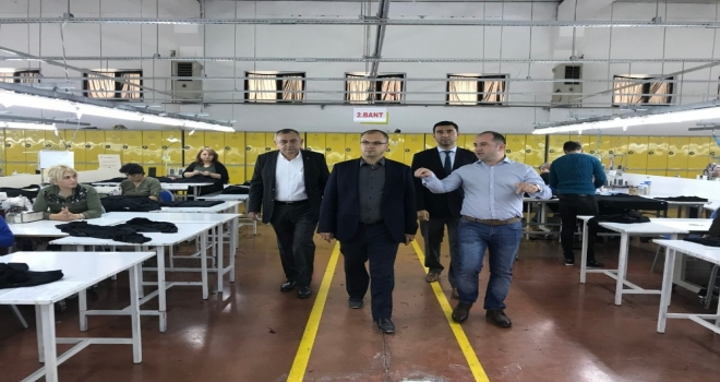 Tokatta Tekstil Sektöründe İstihdam Artıyor