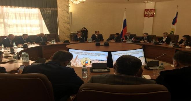 Itso Meclis Başkan Şahlan, Moskovada Ispartayı Temsil Etti