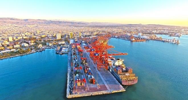 Mersin Limanı Türkiyenin En Büyük Konteyner Limanı Oldu