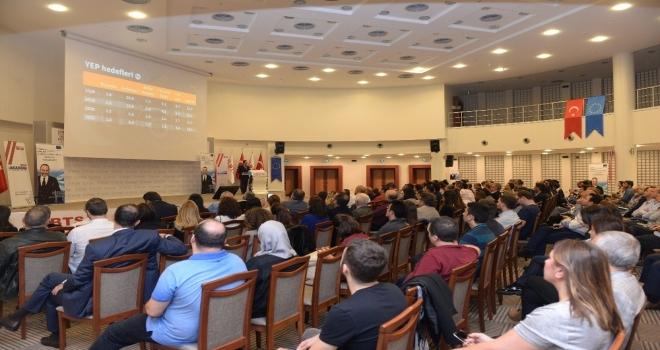 Ab Bilgi Merkezi, Prof. Alkini Bursa İş Dünyasıyla Buluşturdu