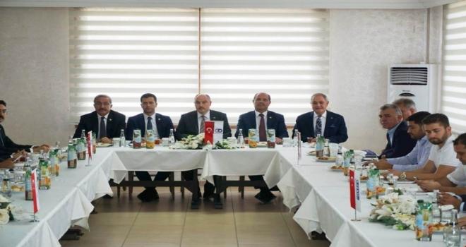 Osmaniyede Ekonomi Değerlendirme Toplantısı