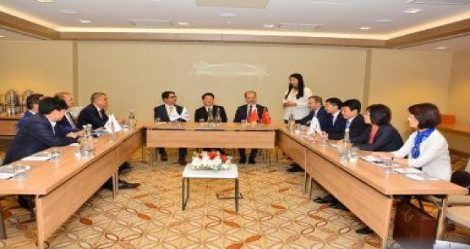 Kuşadası Belediyesi Çin Turizm Tanıtım Ve İşbirliği Toplantısına Katıldı