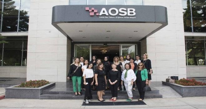 Babrowski, Aosb Kadın Sanayiciler Platformunu Ziyaret Etti