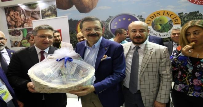 Nazilli Ticaret Odası, Antalya Yörex Fuarına Katıldı