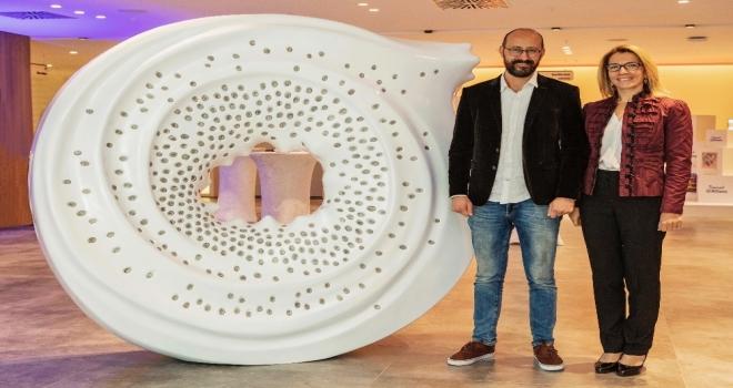 Allianz Türkiye Kampüse 'Bir İz Heykeli