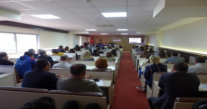 Kuşadası Ticaret Odasında Kosgeb Ve İşkur Bilgilendirme Toplantısı Yapıldı