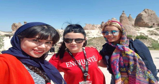İranlı Sosyal Medya Fenomenleri Kapadokya'yı Gezdi