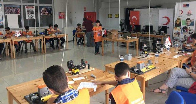 Türk Kızılayı Öğrencileri BUTGEM'in Misafiri Oldu
