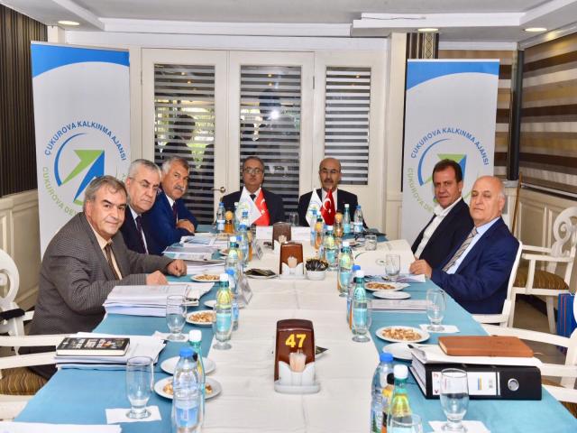 ÇKA Yönetim Kurulu  Mersin'de toplandı.