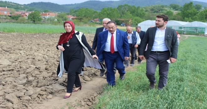 Çiftçi kadınlara tam destek