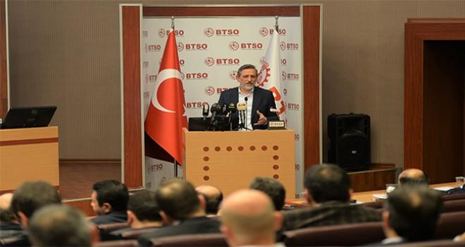 """Burkay : """"Bursa, 2019 Yılında İhracata Odaklanacak"""""""