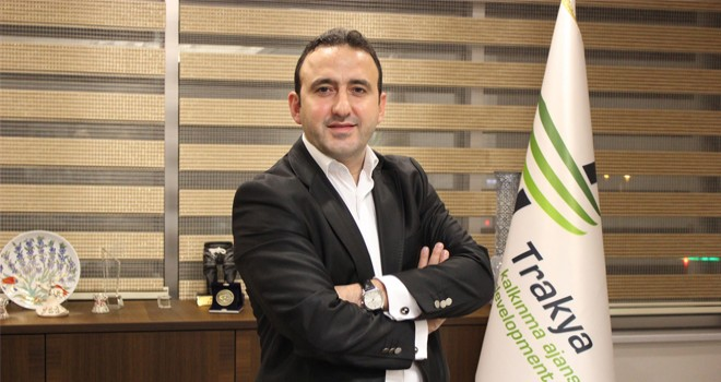 TRAKYAKA Genel Sekreteri Mahmut Şahin.