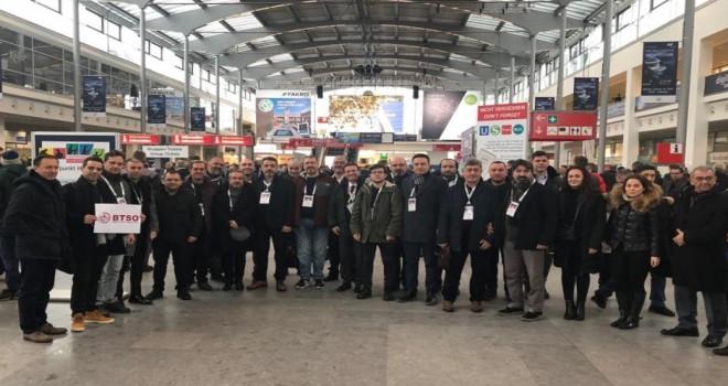 İnşaat Sektörü Temsilcileri BAU Münih 2019 Fuarı'nı Ziyaret Etti